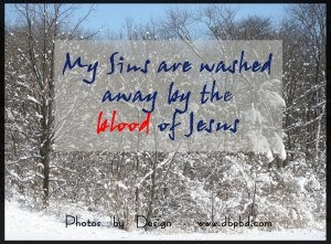 3183 Washed by the blood made white as snow